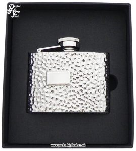 4oz-Hammered-Finish-Steel-Hip-Flask