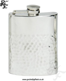 4oz-Two-Thirds-Hammered-Pewter-Hip-Flask-with-Captive-Top