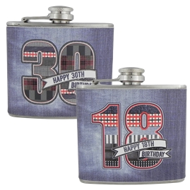 Birthday Hip Flasks