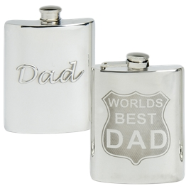 Fathers Day Hip Flasks