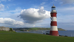 Plymouth-lighthouse
