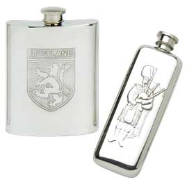 Scottish Hip Flasks