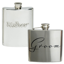 Wedding Hip Flasks