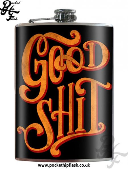 Good-Shit-8oz-Stainless-Steel-Hip-Flask