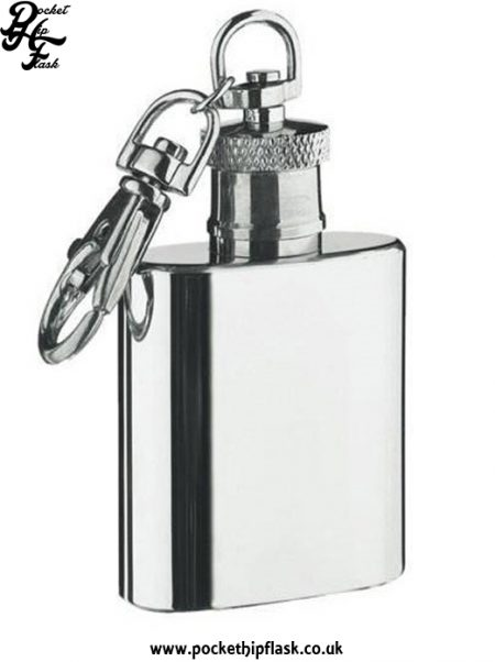 1oz Keyring, key chain Hip Flask