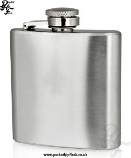 3oz Economy Hip Flask Stainless Steel