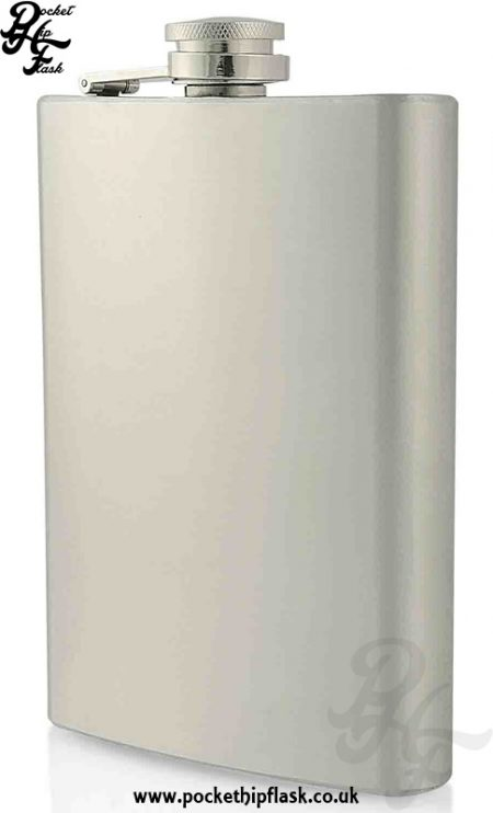 8oz Economy Hip Flask Stainless Steel