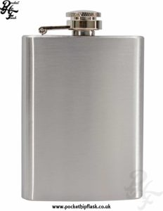 4oz Economy Hip Flask Stainless Steel
