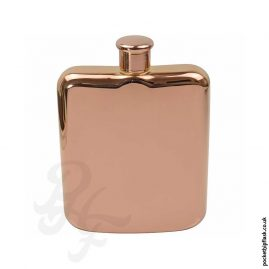 6oz-Rose-Gold-Colour-Stainless-Steel-Pocket-Flask