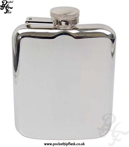 6oz Stainless Steel Pocket Flask