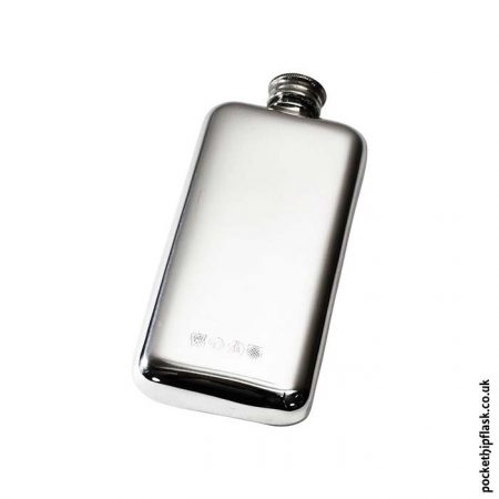 3oz-Plain-Pewter-Cushion-Hip-Flask-Back