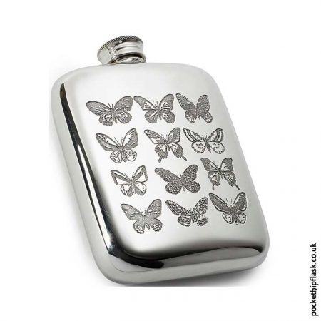 4oz-Pewter-Cushion-Butterfly-Hip-Flask