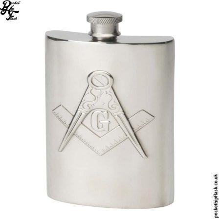 6oz-Masonic-Masons-Pewter-Hip-Flask