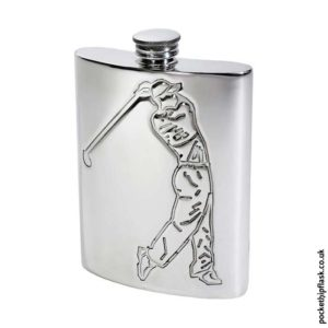6oz-Pewter-Hip-Flask-with-Golfer