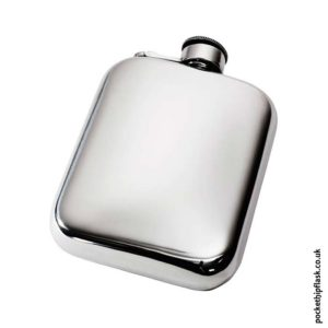 6oz-Plain-Pewter-Cushion-Hip-Flask-with-Captive-Top