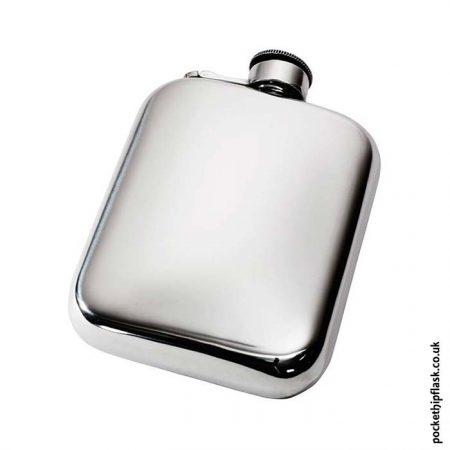 6oz-Plain-Pewter-Cushion-Hip-Flask-with-Captive-Top
