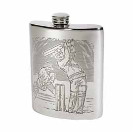 Cricket Hip Flasks