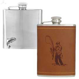 Stainless Steel Fishing Hip Flasks