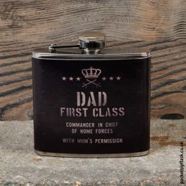 5oz-Hip-Flask-Dad-First-Class