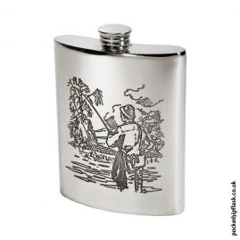 6oz-Pewter-Fishing-Hip-Flask