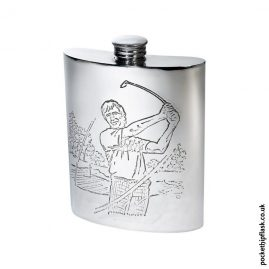 6oz-Pewter-Golfing-Hip-Flask