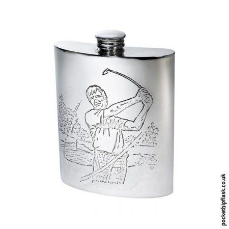 6oz-Pewter-Golfing-Hip-Flask