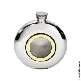 6oz-Round-Pewter-Brass-Porthole-Flask