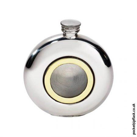 6oz-Round-Pewter-Brass-Porthole-Flask