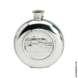6oz-Round-Pewter-Edinburgh-Castle-Hip-Flask