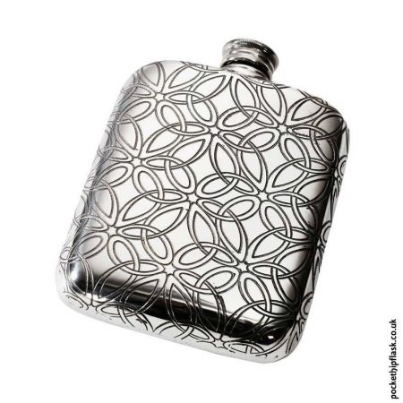 4oz-Pewter-Hip-Flask-Triquetrea