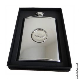 6oz-Shiny-Steel-Hip-Flask-with-Fish-Badge