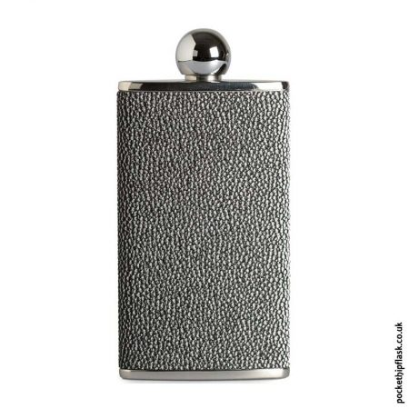 Ladies-Silver-Luxury-Leather-4oz-Oval-Hip-Flask