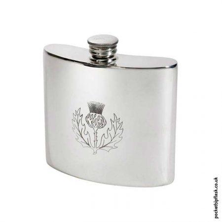 6oz-Pewter-Scottish-Thistle-Hip-Flask