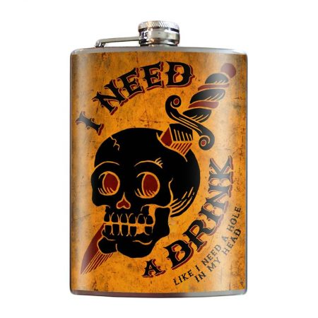 I-Need-a-Drink-8oz-Stainless-Steel-Hip-Flask