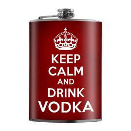 Keep-Calm-8oz-Stainless-Steel-Hip-Flask