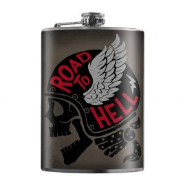 Road-to-Hell-8oz-Stainless-Steel-Hip-Flask
