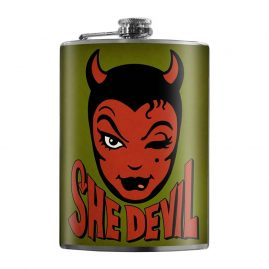 She-Devil-8oz-Stainless-Steel-Hip-Flask