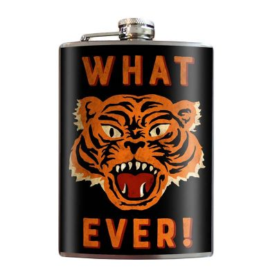 What-Ever-8oz-Stainless-Steel-Hip-Flasks