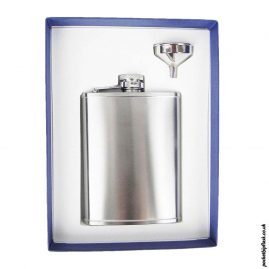 6oz-Brushed-Steel-Hip-Flask-and-Funnel