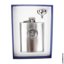 6oz-Scotland-Brushed-Steel-Hip-Flask-and-Funnel