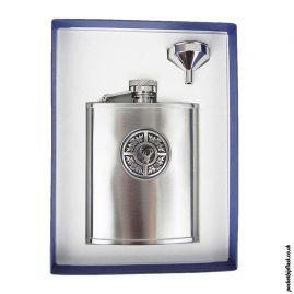 6oz-Thistle-and-Stag-Brushed-Steel-Hip-Flask-and-Funnel
